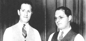 "George and Ira Gershwin, who, along with Dubose and Dorothy Heyward, created ""Porgy and Bess."""