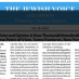 Jewish Voice and Opinion June 2015